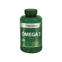 ÔMEGA 3 1000MG 240 CÁPSULAS SOFTGEL